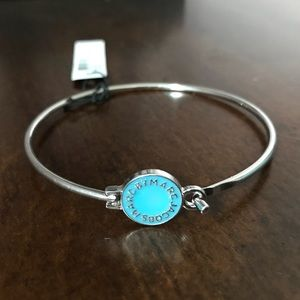 Marc By Marc Jacobs Silver Tiffany & blue Bangle